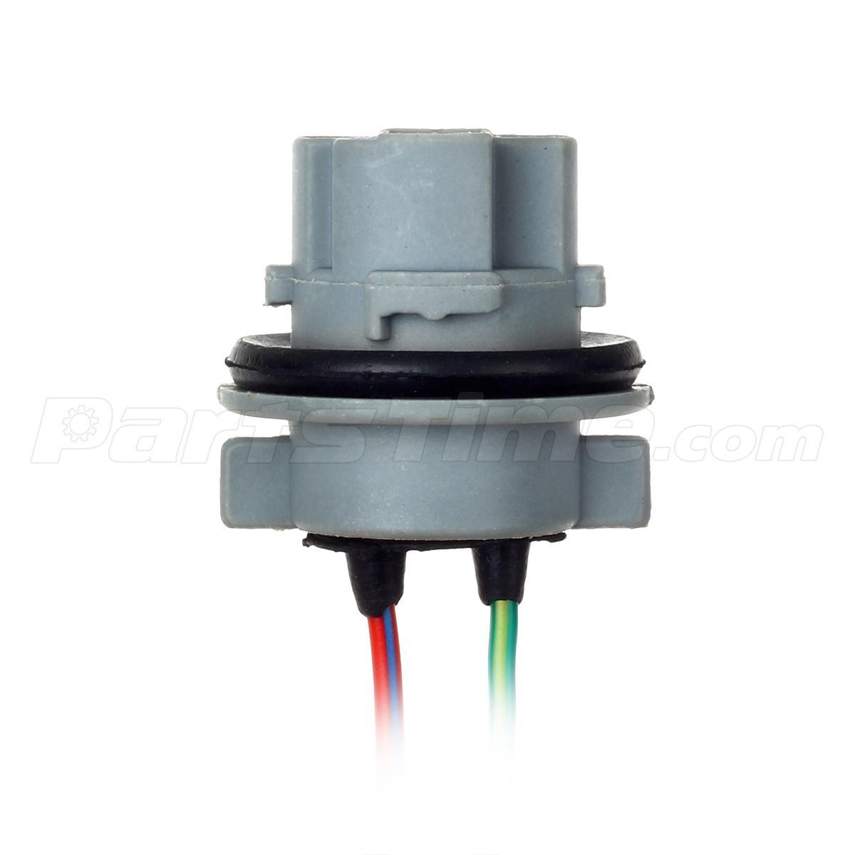 2x 7440 led bulb brake turn signal light sockets harness wire 2x 7443 led bulb brake turn signal light sockets harness wire plugs
