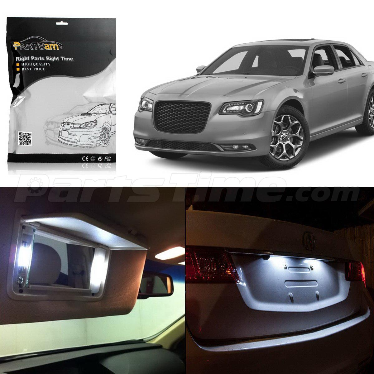 15) LED Interior Package Deal For Chrysler 300 05-08 With