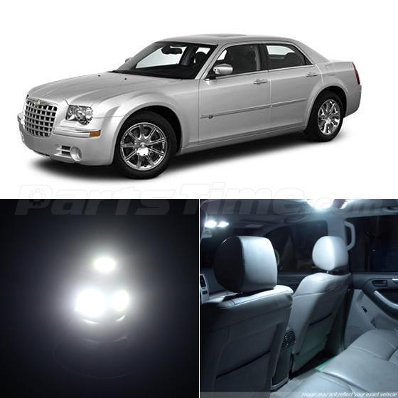7pcs White Smd Led Light Interior Package Fits For Chrysler 300 300c 2005 2015