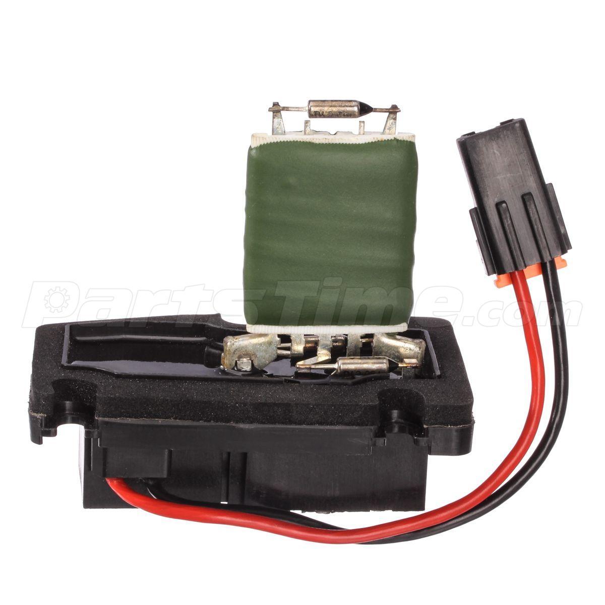 Heater blower motor resistor for buick century regal for Heater blower motor not working
