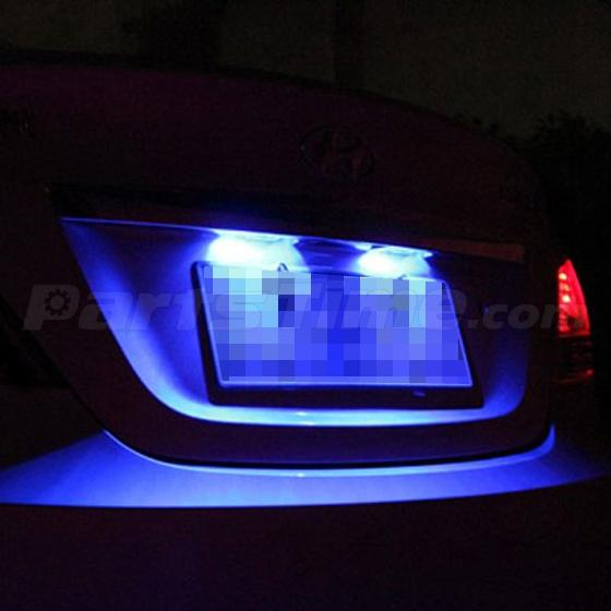 6x Super Bright Blue 6 SMD 6418 LED Interior Dome Light