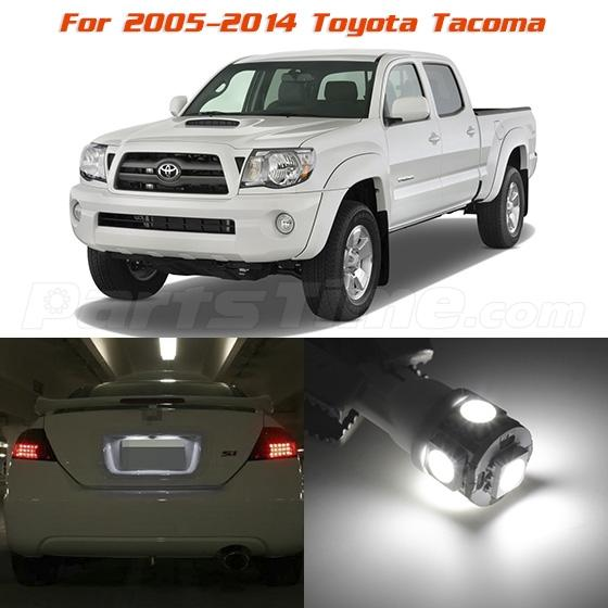 5 x xenon white smd led lights interior package kit for - 2013 toyota tacoma interior accessories ...