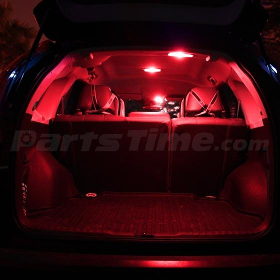 For 2005 2014 Toyota Tacoma Red Led Interior Lights Package Deal Ebay