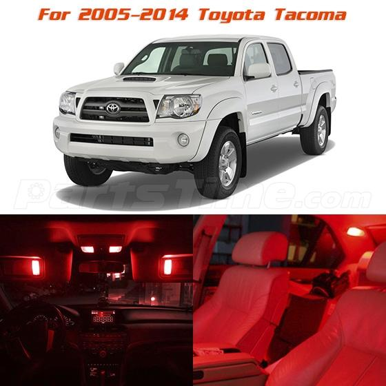 For 2005 2014 toyota tacoma red led interior lights - Toyota tacoma led interior lights ...