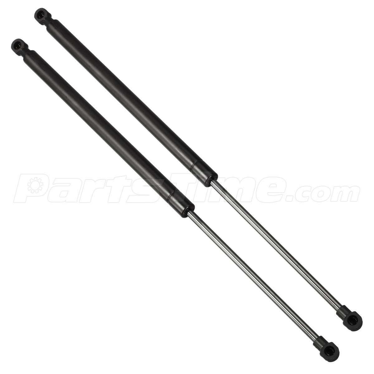 qty 2 hood pm1049 lift supports prop rod shock gas spring