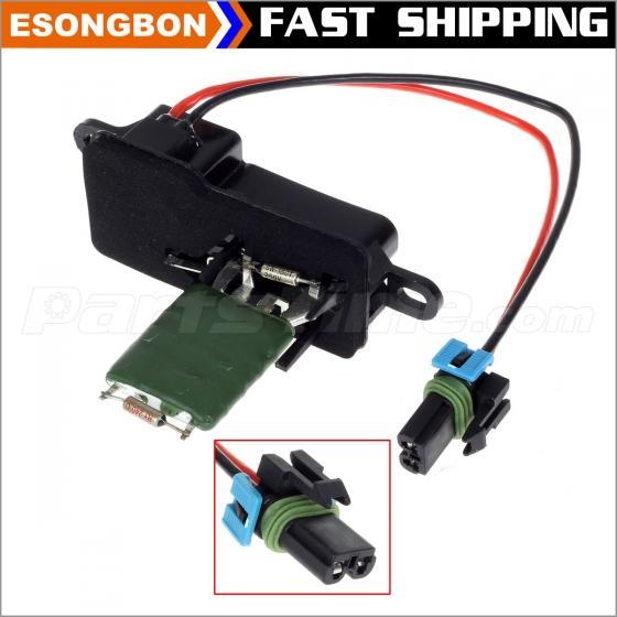 Front Heater Blower Motor Resistor For 1996-2009 GMC