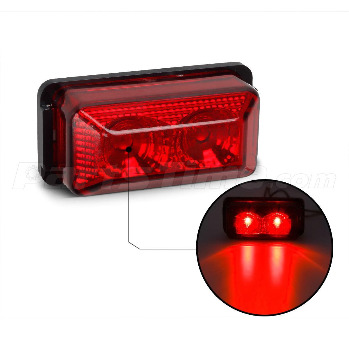 12v mini 2 6 auto led side light led side marker lights. Black Bedroom Furniture Sets. Home Design Ideas