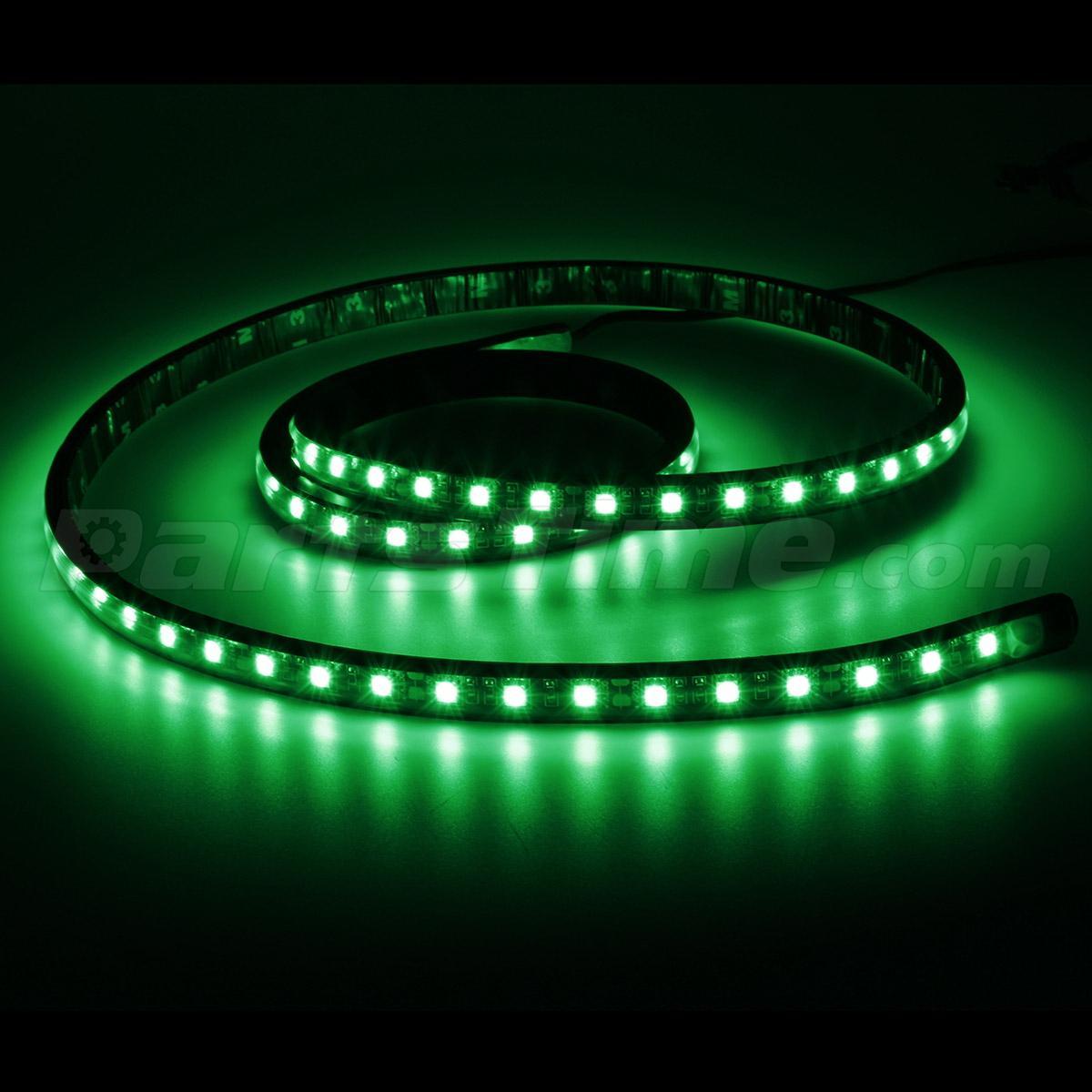 Green Led Truck Light 60 Quot Waterproof Light Bar W On Off