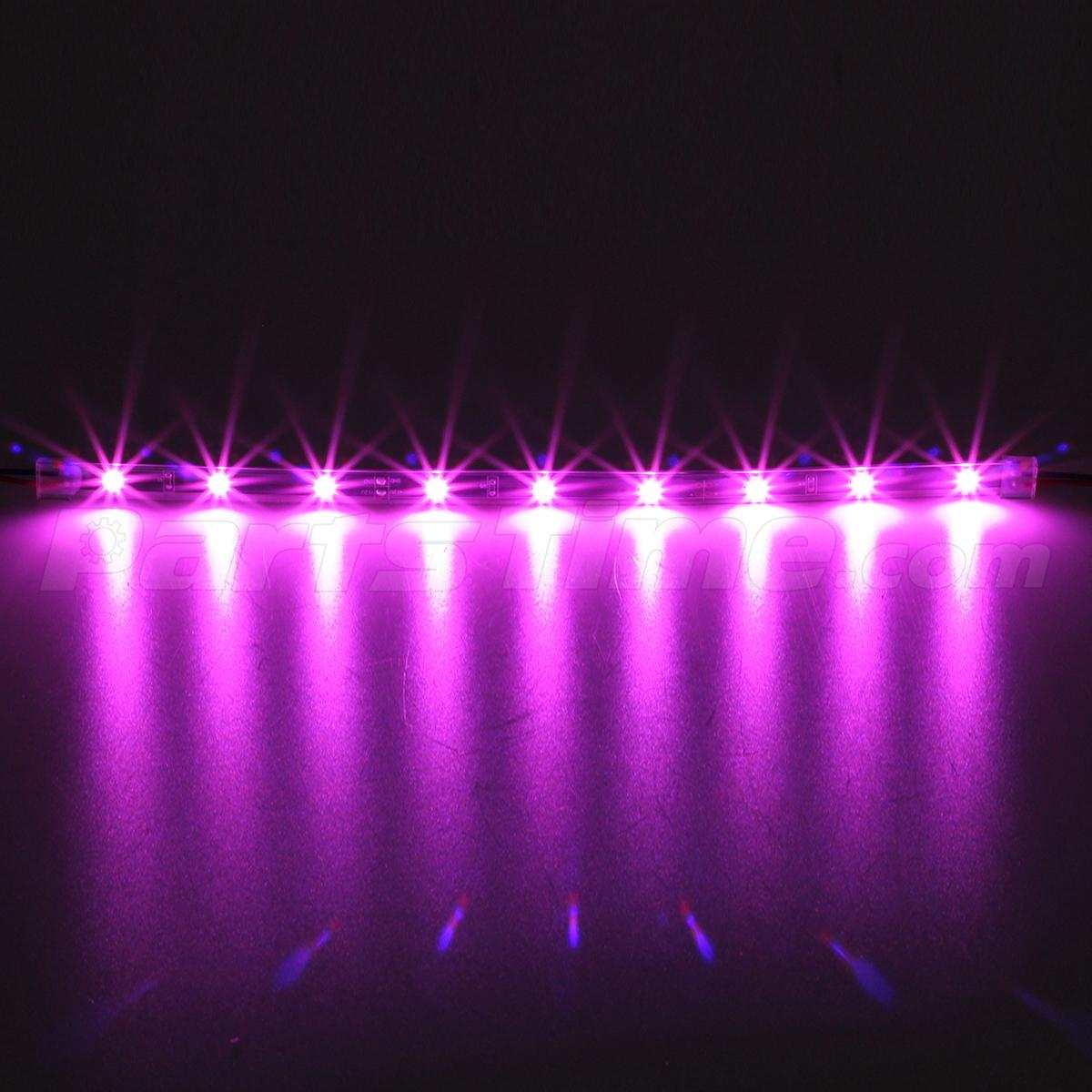 14pc Pink Car Truck Underglow Under Body Neon Accent Glow Led Lights Kit 3mode Ebay