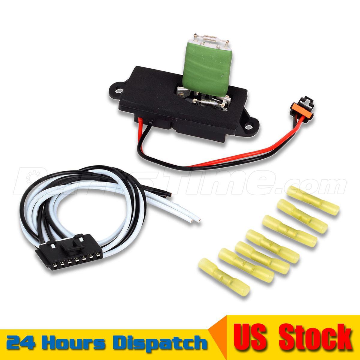 A c heater blower motor resistor regulator w plug for Suburban furnace blower motor replacement